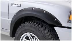 Bushwacker - Bushwacker 21037-02 Pocket Style Front Fender Flares-Black - Image 1