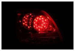 Anzo USA - Anzo USA 321101 Chrome LED Tail Light Set-Red/Clear Lens - Image 2