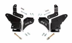 Rough Country Suspension Systems - Rough Country 1627 Front Control Arm Drop Bracket Kit - Image 1