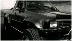 Bushwacker - Bushwacker 31010-11 Cut-Out Rear Fender Flares-Black - Image 1
