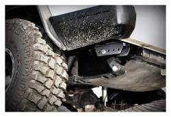 Rough Country Suspension Systems - Rough Country 1117 Rear Leaf Spring Shackle Relocation Kit - Image 2