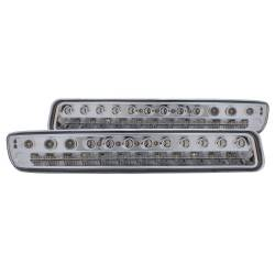 Anzo USA - Anzo USA 511052 LED Clear Lens Front Turn Signal/Parking Lights - Image 1
