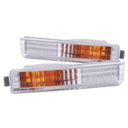 Anzo USA - Anzo USA 511006 Clear Lens Front Bumper/Turn Signal Light Set - Image 1