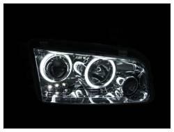 Anzo USA - Anzo USA 121218 Projector Headlight Set w/ CCFL Halo-Black - Image 2