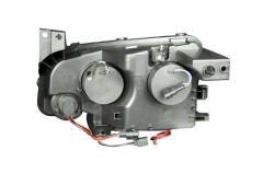 Anzo USA - Anzo USA 121218 Projector Headlight Set w/ CCFL Halo-Black - Image 3