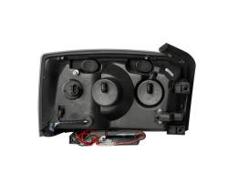 Anzo USA - Anzo USA 111105 Crystal Headlight Set-Black - Image 2