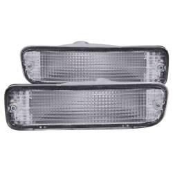 Anzo USA - Anzo USA 511018 Clear Lens Front Bumper/Turn Signal Light Set - Image 1