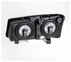 Anzo USA - Anzo USA 111010 Crystal Headlight Set-Chrome - Image 2
