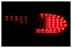 Anzo USA - Anzo USA 321152 Black LED Tail Light Set-Clear Lens - Image 2
