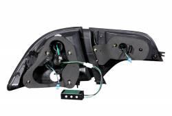 Anzo USA - Anzo USA 321152 Black LED Tail Light Set-Clear Lens - Image 3