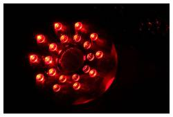 Anzo USA - Anzo USA 321194 Black LED Tail Light Set-Clear Lens - Image 2