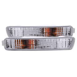 Anzo USA - Anzo USA 511008 Clear Lens Front Bumper/Turn Signal Light Set - Image 1