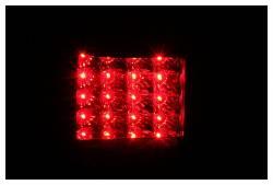 Anzo USA - Anzo USA 311099 Black LED Tail Light Set-Clear Lens - Image 2