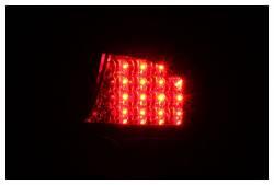 Anzo USA - Anzo USA 321035 Black LED Tail Light Set-Clear Lens - Image 2