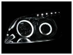 Anzo USA - Anzo USA 111121 Projector Headlight Set w/ CCFL Halo-Chrome - Image 2