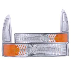 Anzo USA - Anzo USA 511039 Euro Clear Lens Front Corner/Parking Lights - Image 1