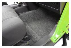 Bed Rug - Bed Rug BRJK07F4 BedRug Classic Carpeted Floor Liner-Front - Image 3