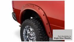 Bushwacker - Bushwacker 50919-55 Pocket Style Front/Rear Fender Flares-Bright Silver Metallic - Image 5