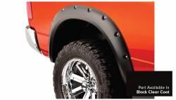 Bushwacker - Bushwacker 50915-35 Pocket Style Front/Rear Fender Flares-Black Clearcoat - Image 4