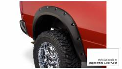 Bushwacker - Bushwacker 50919-15 Pocket Style Front/Rear Fender Flares-Bright White Clearcoat - Image 2