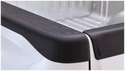 Bushwacker - Bushwacker 49517 Factory Style Side Bed Rail Caps w/o Holes-Black - Image 1