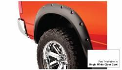 Bushwacker - Bushwacker 50915-15 Pocket Style Front/Rear Fender Flares-Bright White Clearcoat - Image 4