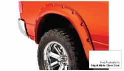 Bushwacker - Bushwacker 50915-15 Pocket Style Front/Rear Fender Flares-Bright White Clearcoat - Image 5