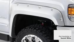 Bushwacker - Bushwacker 40967-14 Pocket Style Front/Rear Fender Flares-Summit White - Image 3