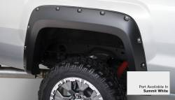 Bushwacker - Bushwacker 40967-14 Pocket Style Front/Rear Fender Flares-Summit White - Image 4