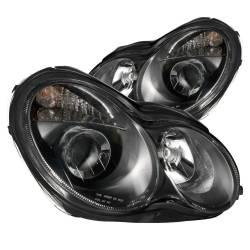 Anzo USA - Anzo USA 121079 Projector Headlight Set-Black - Image 1
