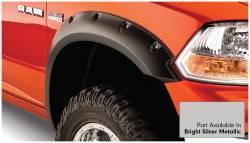 Bushwacker - Bushwacker 50915-55 Pocket Style Front/Rear Fender Flares-Bright Silver Metallic - Image 2