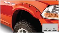 Bushwacker - Bushwacker 50915-55 Pocket Style Front/Rear Fender Flares-Bright Silver Metallic - Image 3