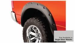 Bushwacker - Bushwacker 50915-55 Pocket Style Front/Rear Fender Flares-Bright Silver Metallic - Image 4
