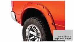 Bushwacker - Bushwacker 50915-55 Pocket Style Front/Rear Fender Flares-Bright Silver Metallic - Image 5