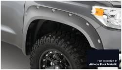 Bushwacker - Bushwacker 30918-43 Pocket Style Front/Rear Fender Flares-Midnight Black Metallic - Image 3