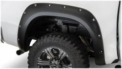 Bushwacker - Bushwacker 30024-02 Pocket Style Rear Fender Flares-Black - Image 1