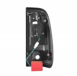 Anzo USA - Anzo USA 311127 Black LED Tail Light Set-Clear Lens - Image 3
