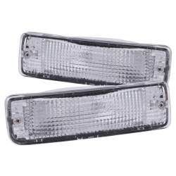 Anzo USA - Anzo USA 511019 Clear Lens Front Bumper/Turn Signal Light Set - Image 1