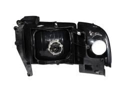Anzo USA - Anzo USA 111067 Crystal Headlight Set w/ Corners-Black - Image 2