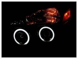 Anzo USA - Anzo USA 111095 Projector Headlight Set w/ CCFL Halo-Black - Image 2