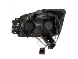 Anzo USA - Anzo USA 111095 Projector Headlight Set w/ CCFL Halo-Black - Image 3