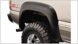 Bushwacker - Bushwacker 40104-02 Extend-a-Fender Rear Fender Flares-Black - Image 1