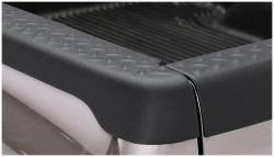 Bushwacker - Bushwacker 49502 Diamondback Side Bed Rail Caps w/o Holes-Black - Image 1