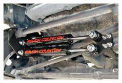 Rough Country Suspension Systems - Rough Country 87307 Big Bore Dual Steering Stabilizer Kit - Image 3