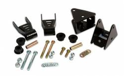 Rough Country Suspension Systems - Rough Country 5061 Front Leaf Srping Shackle Reversal Kit - Image 1