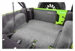 Bed Rug - Bed Rug BRJK11R4 BedRug Classic Carpeted Floor Liner-Rear/Cargo - Image 2