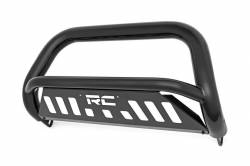 Rough Country Suspension Systems - Rough Country B-F2112 Bull Bar Bumper Guard Black - Image 1