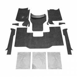 Bed Rug - Bed Rug BRCYJ76F BedRug Classic Carpeted Floor Liner-Front - Image 1