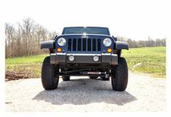 Rough Country Suspension Systems - Rough Country 1047 Front Bumper End Caps - Image 2