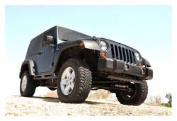 Rough Country Suspension Systems - Rough Country 1047 Front Bumper End Caps - Image 4